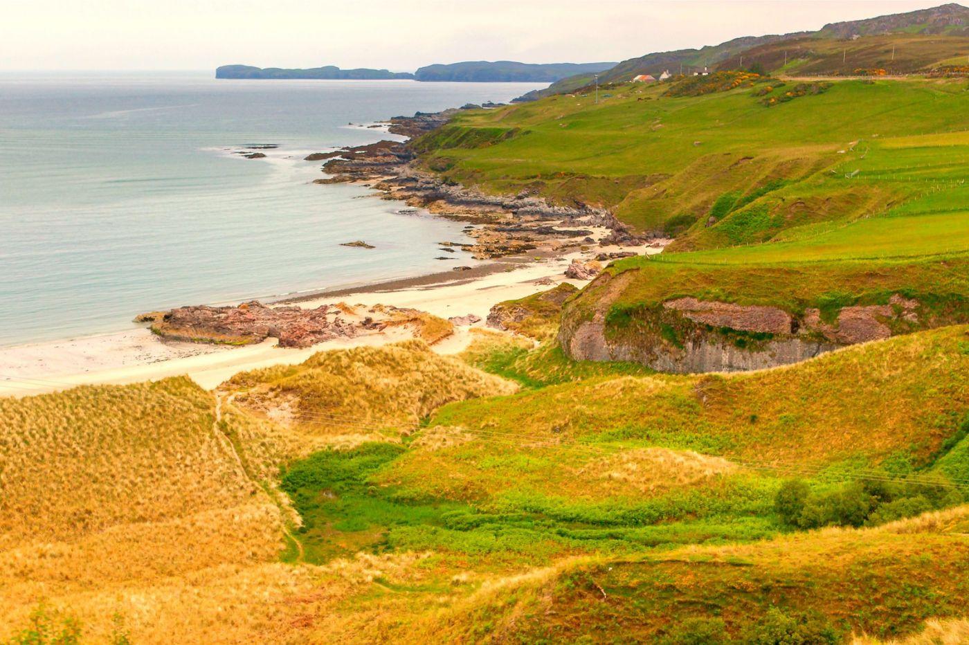 苏格兰美景,弯弯的沙滩_图1-27