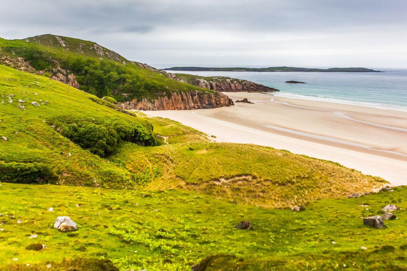 苏格兰美景,弯弯的沙滩_图1-28