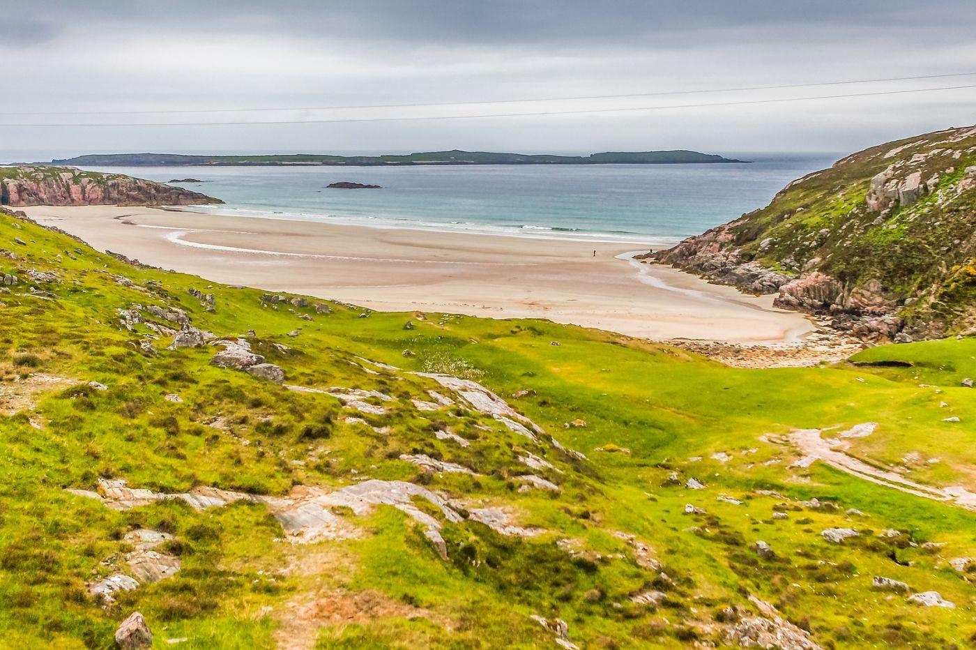 苏格兰美景,弯弯的沙滩_图1-31