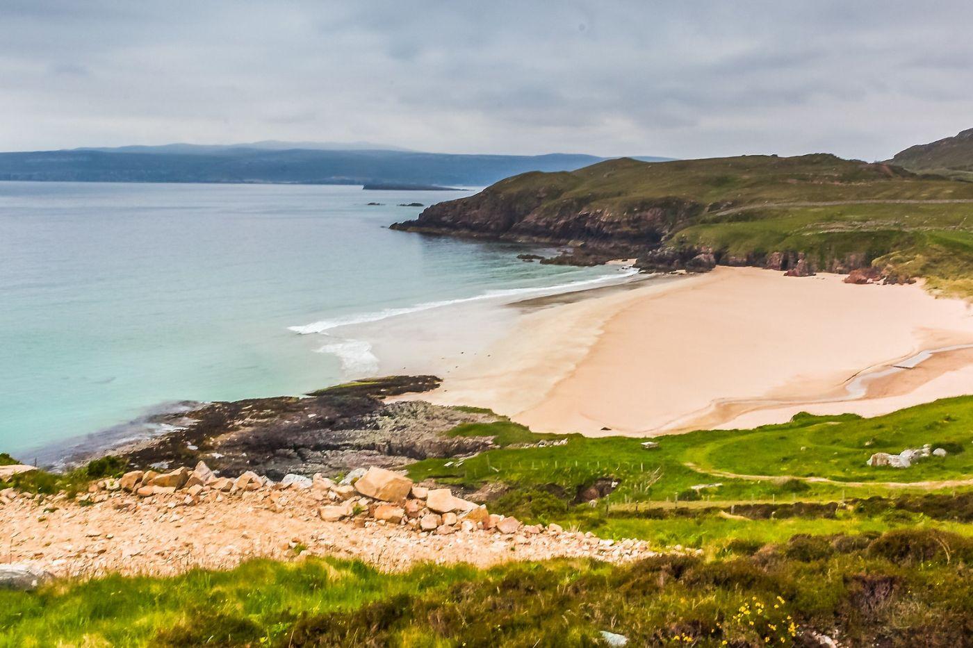 苏格兰美景,弯弯的沙滩_图1-30