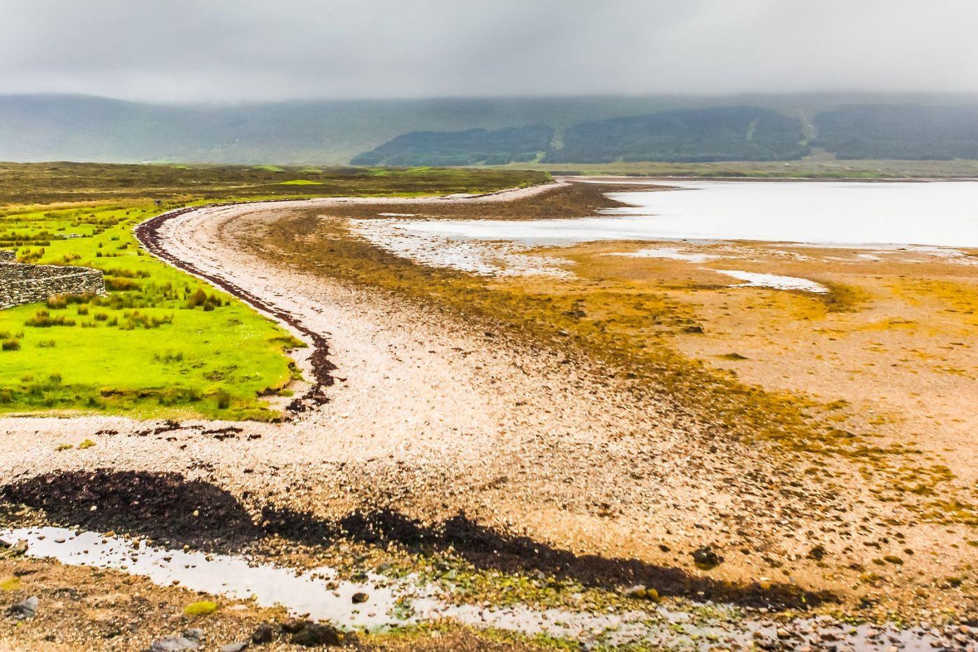 苏格兰美景,弯弯的沙滩_图1-33
