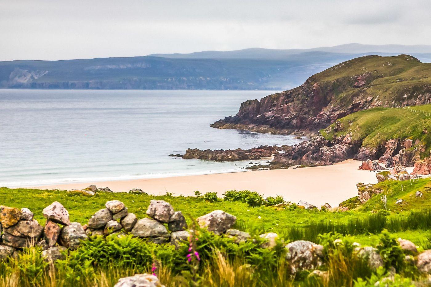 苏格兰美景,弯弯的沙滩_图1-36