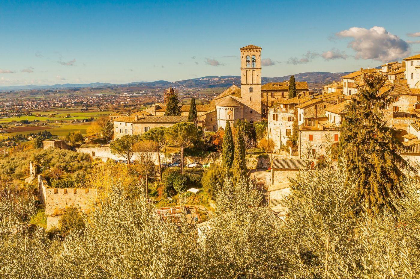 意大利阿西西(Assisi), 登高放眼_图1-1