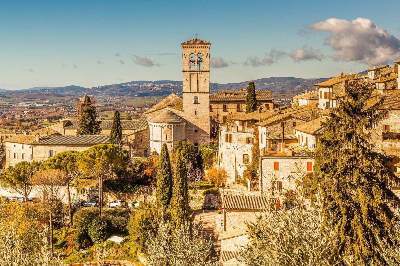 意大利阿西西(Assisi), 登高放眼_图1-9
