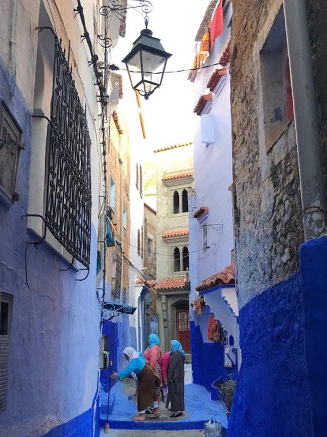 蓝色的城市----舍夫沙万 2_图1-4