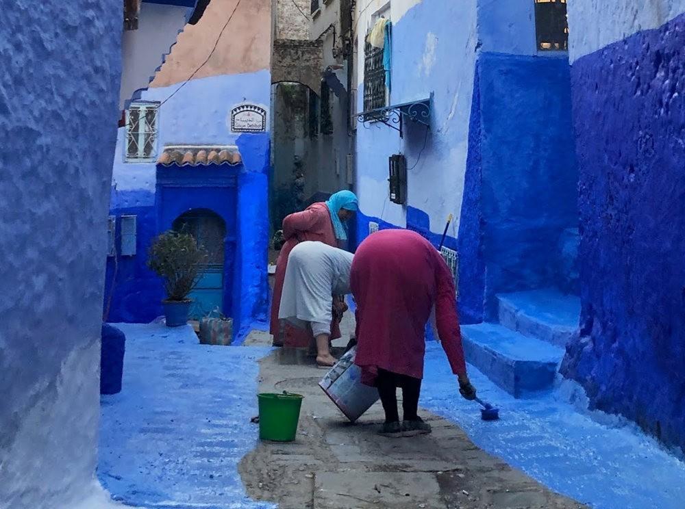 蓝色的城市----舍夫沙万 2_图1-5