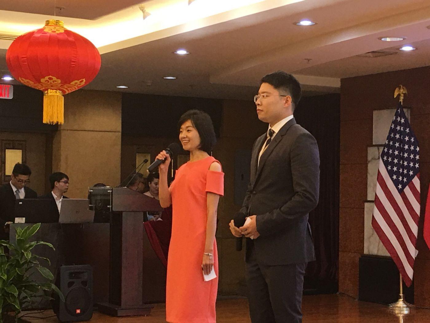 中国驻纽约总领事馆舉辦庆祝建国70周年招待會_图1-2