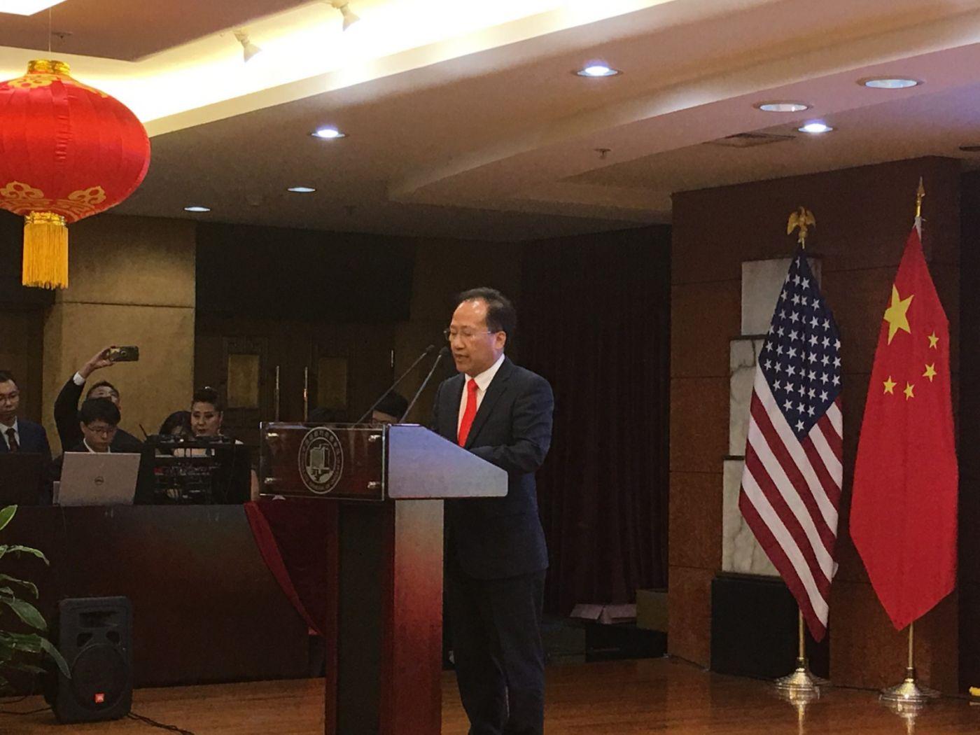 中国驻纽约总领事馆舉辦庆祝建国70周年招待會_图1-4