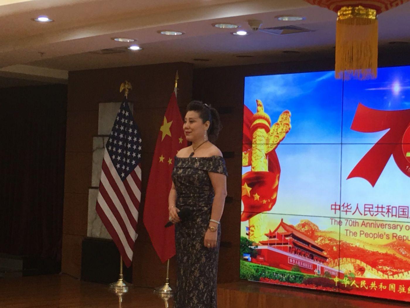 中国驻纽约总领事馆舉辦庆祝建国70周年招待會_图1-7