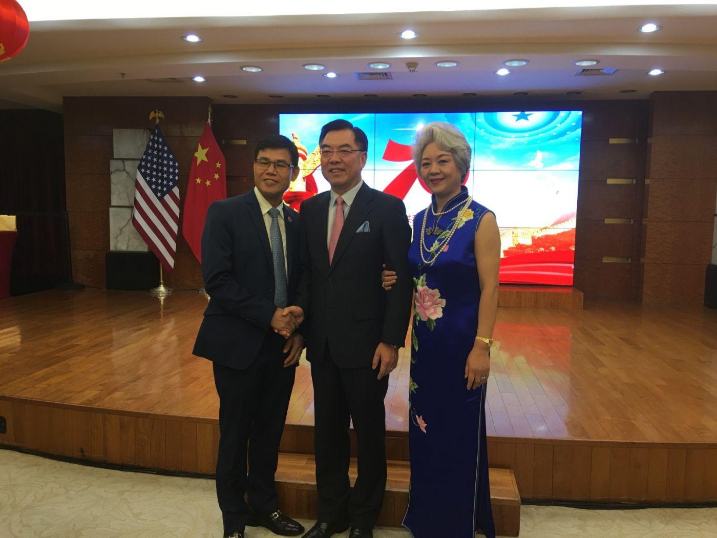 中国驻纽约总领事馆舉辦庆祝建国70周年招待會_图1-17