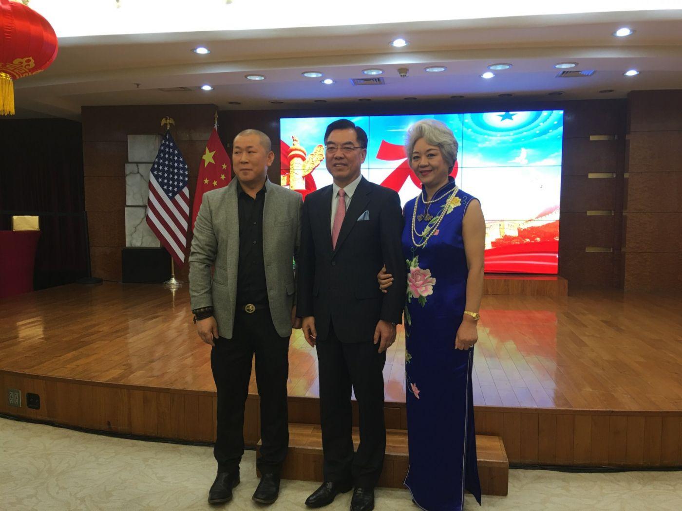 中国驻纽约总领事馆舉辦庆祝建国70周年招待會_图1-18