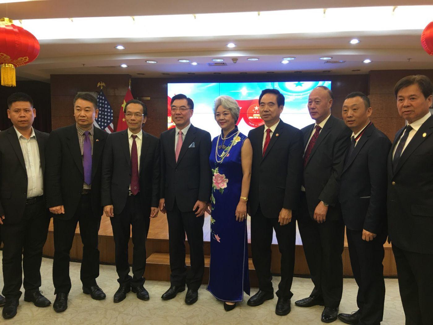 中国驻纽约总领事馆舉辦庆祝建国70周年招待會_图1-20
