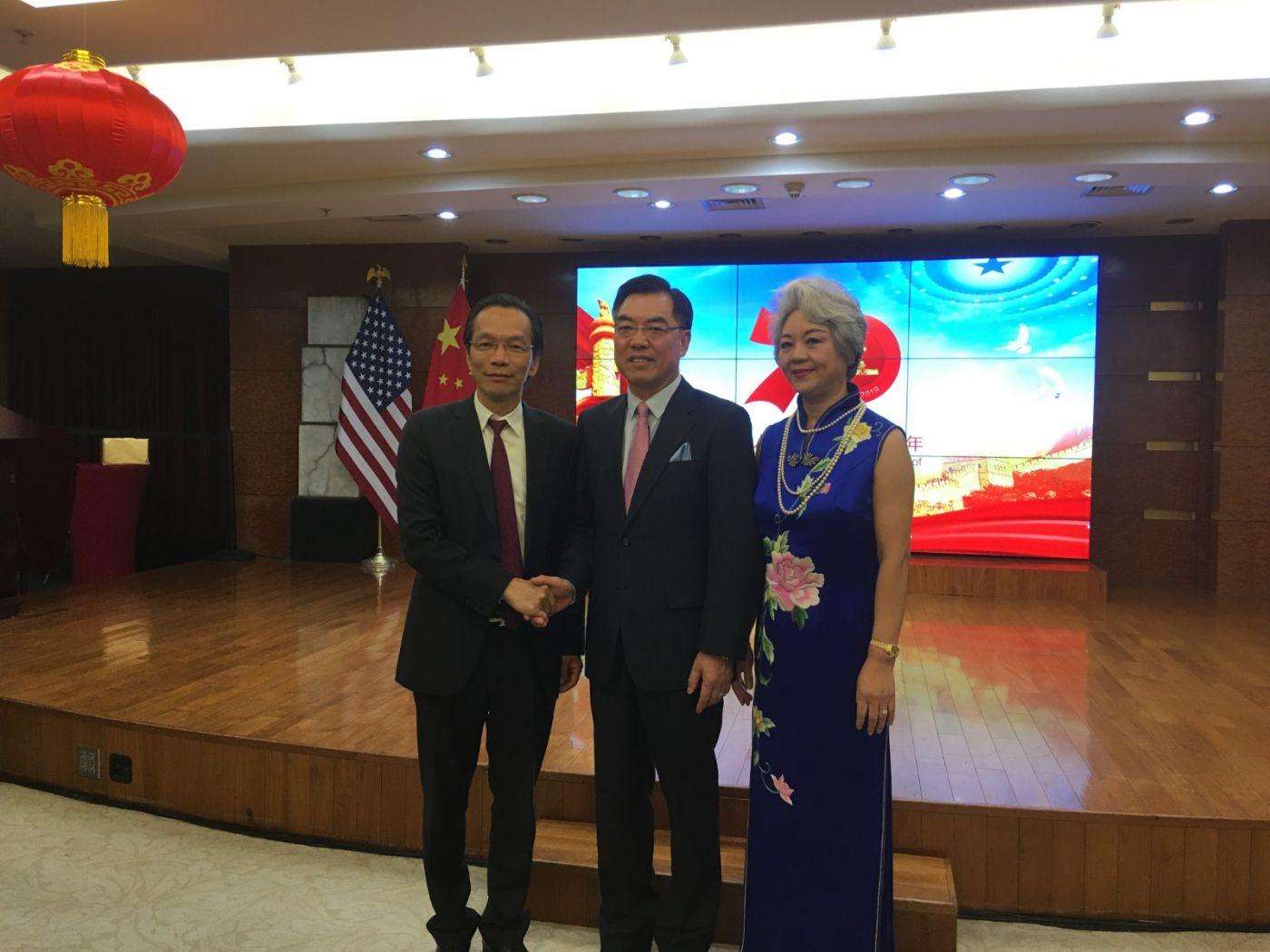 中国驻纽约总领事馆舉辦庆祝建国70周年招待會_图1-23