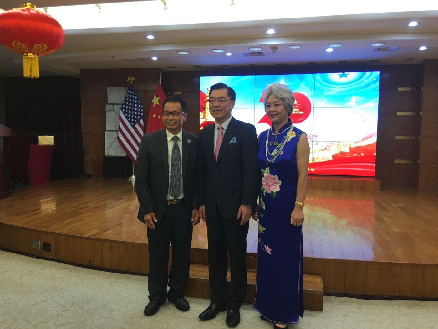 中国驻纽约总领事馆舉辦庆祝建国70周年招待會_图1-34