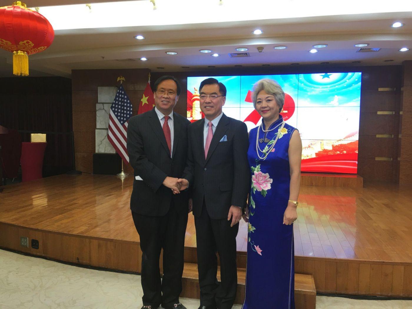 中国驻纽约总领事馆舉辦庆祝建国70周年招待會_图1-37