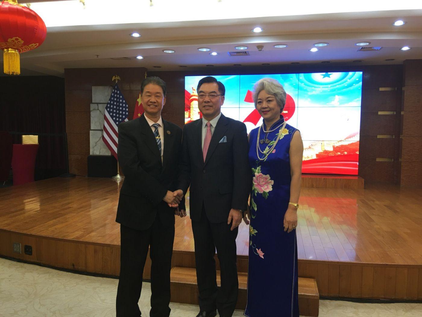 中国驻纽约总领事馆舉辦庆祝建国70周年招待會_图1-38