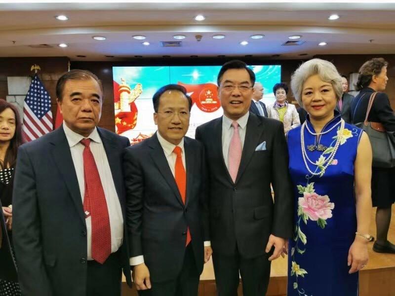 中国驻纽约总领事馆舉辦庆祝建国70周年招待會_图1-48