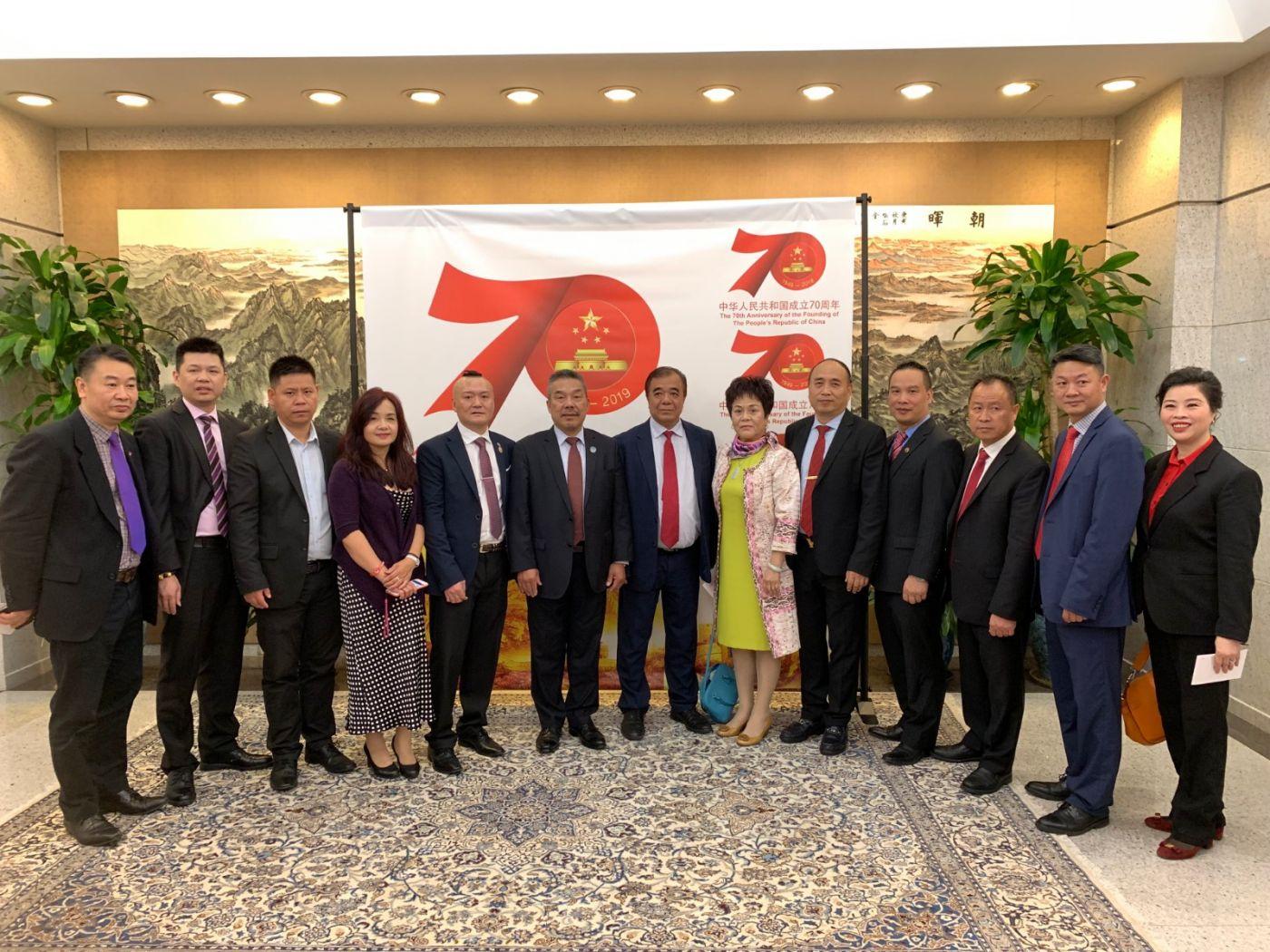 中国驻纽约总领事馆舉辦庆祝建国70周年招待會_图1-49