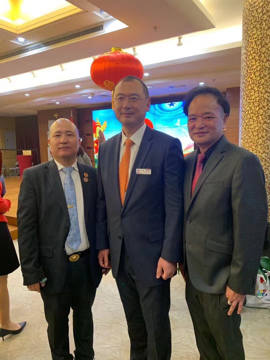 中国驻纽约总领事馆舉辦庆祝建国70周年招待會_图1-50