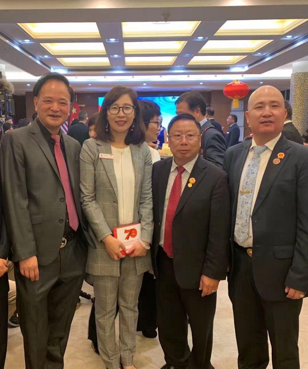 中国驻纽约总领事馆舉辦庆祝建国70周年招待會_图1-51