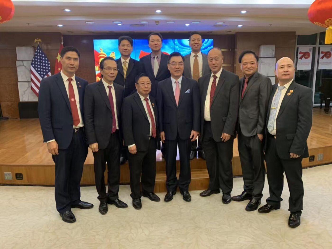 中国驻纽约总领事馆舉辦庆祝建国70周年招待會_图1-53
