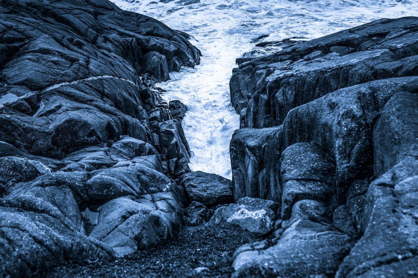 加拿大佩吉海湾(Peggys Cove),礁石上的灯塔_图1-22