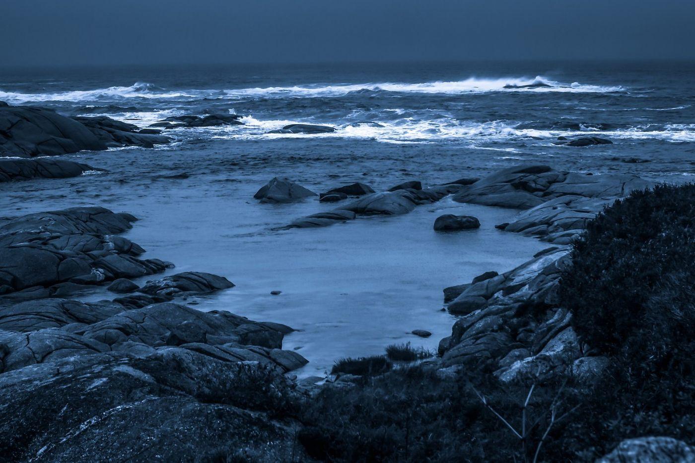 加拿大佩吉海湾(Peggys Cove),礁石上的灯塔_图1-15