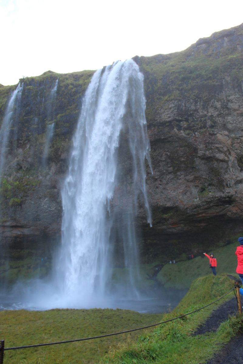 冰岛水帘洞瀑布和彩虹瀑布_图1-14