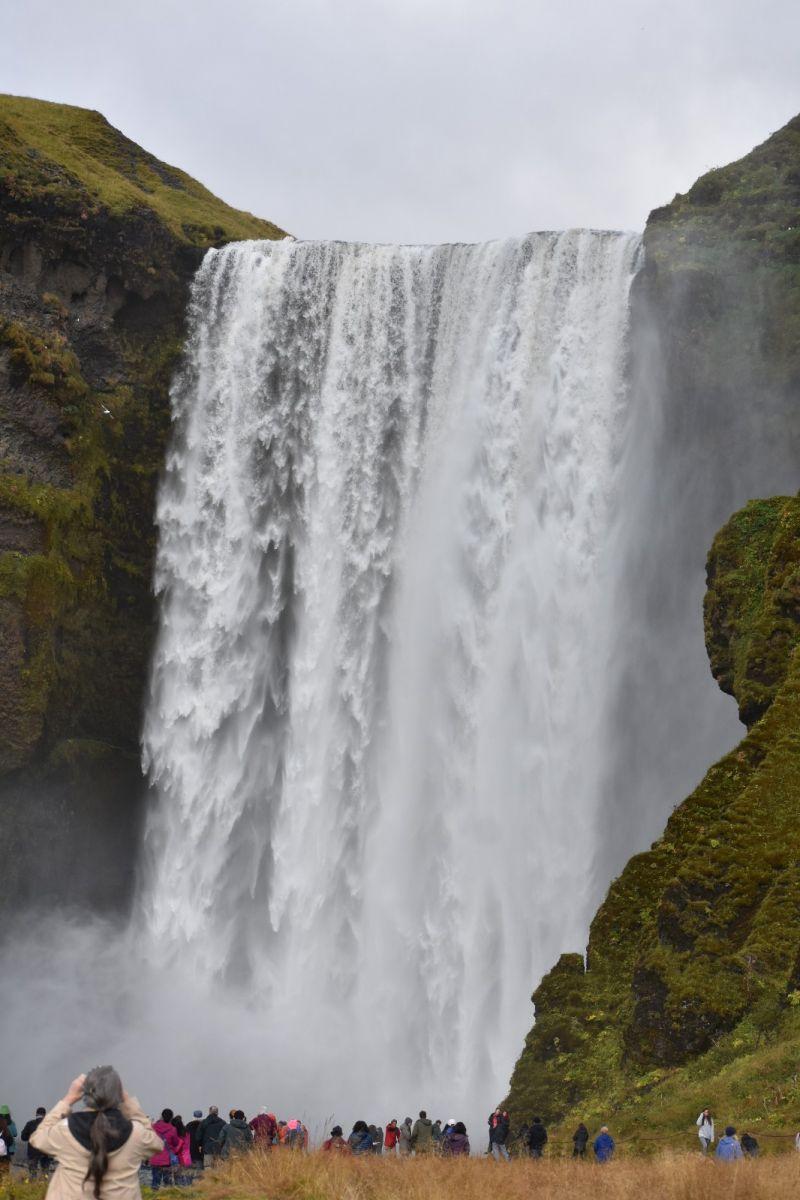 冰岛水帘洞瀑布和彩虹瀑布_图1-20