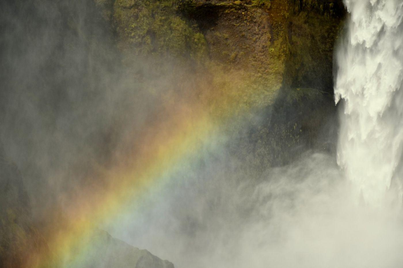 冰岛水帘洞瀑布和彩虹瀑布_图1-23