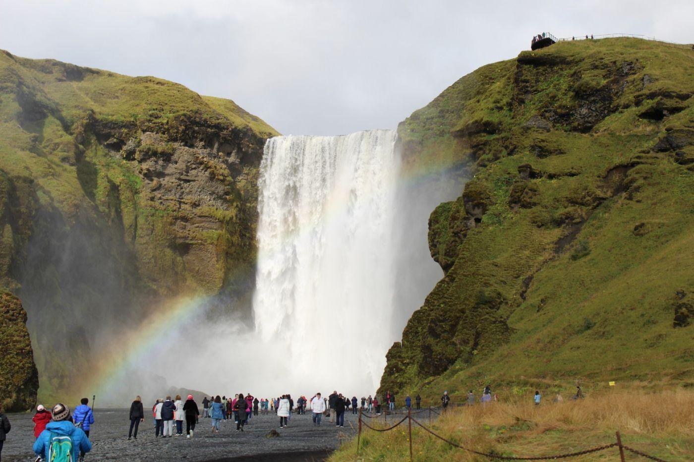 冰岛水帘洞瀑布和彩虹瀑布_图1-37
