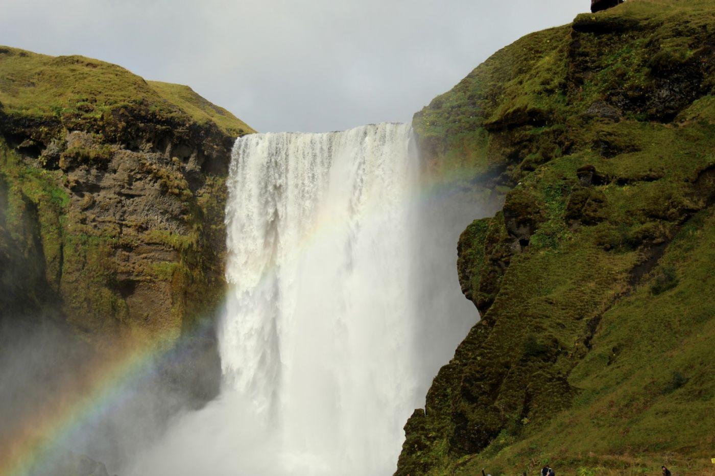 冰岛水帘洞瀑布和彩虹瀑布_图1-38