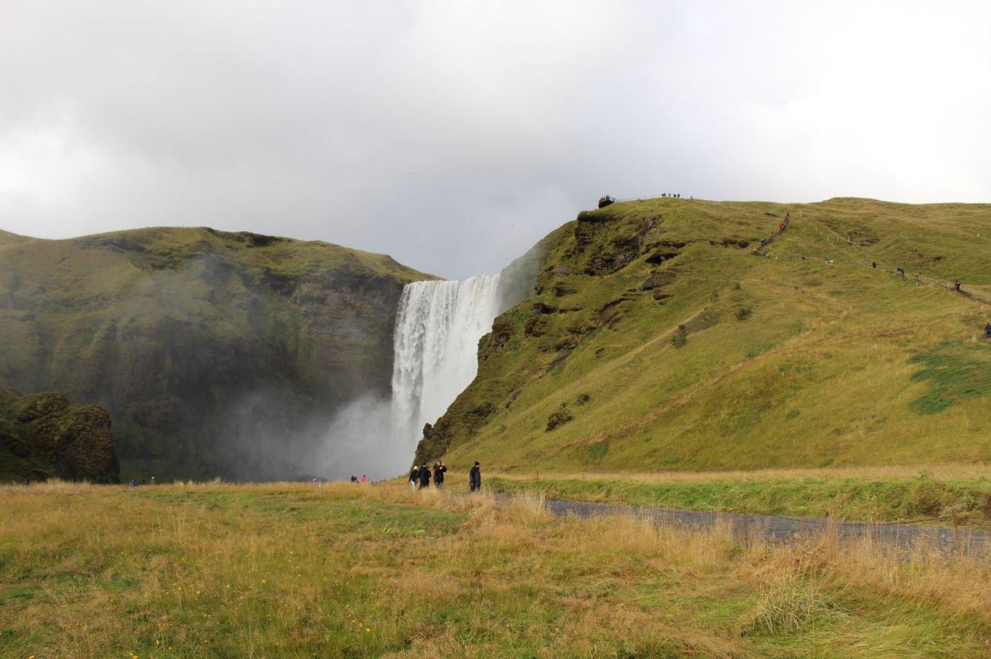 冰岛水帘洞瀑布和彩虹瀑布_图1-39