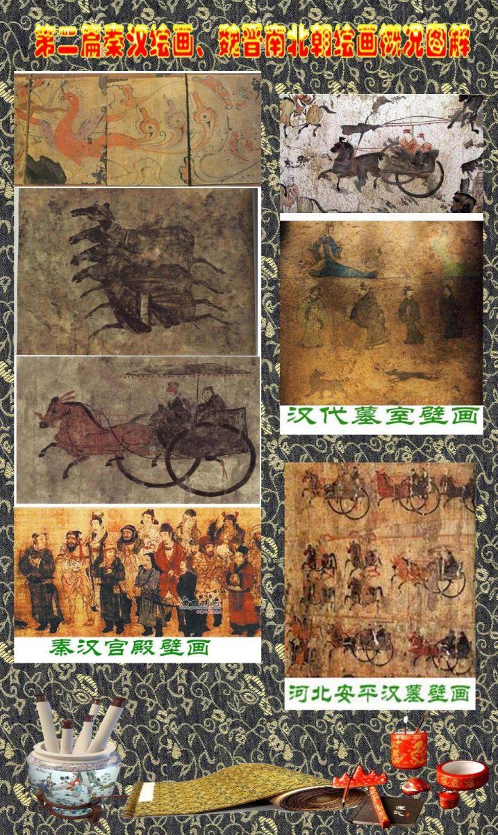 顾绍骅编辑 中国画知识普及版 第二篇秦汉绘画、魏晋南北朝绘画概况 ... ... ... ... ..._图1-2