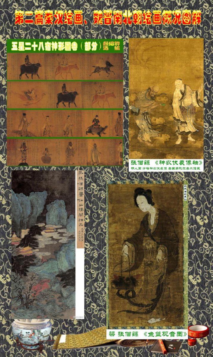 顾绍骅编辑 中国画知识普及版 第二篇秦汉绘画、魏晋南北朝绘画概况 ... ... ... ... ..._图1-9