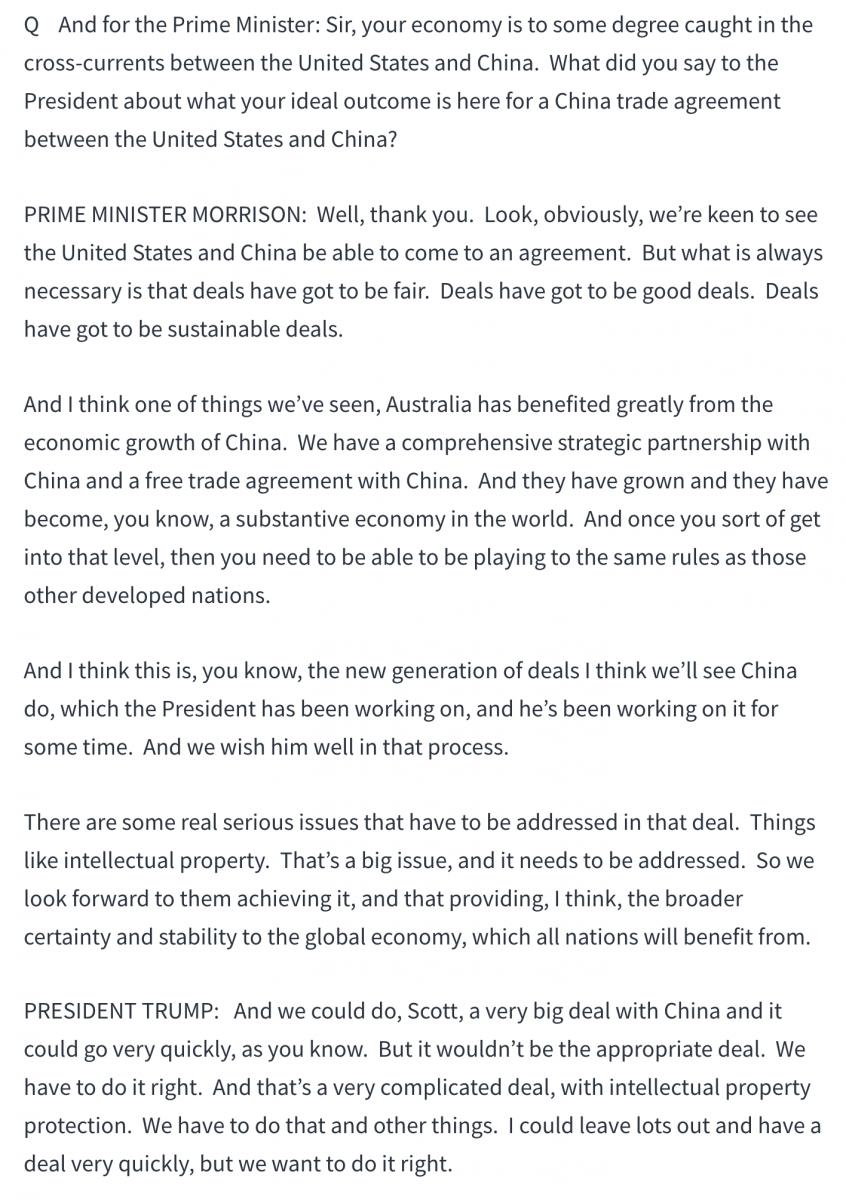澳总理莫里森高调访美释放重要信息_图1-4