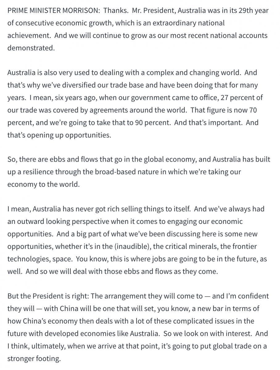 澳总理莫里森高调访美释放重要信息_图1-6