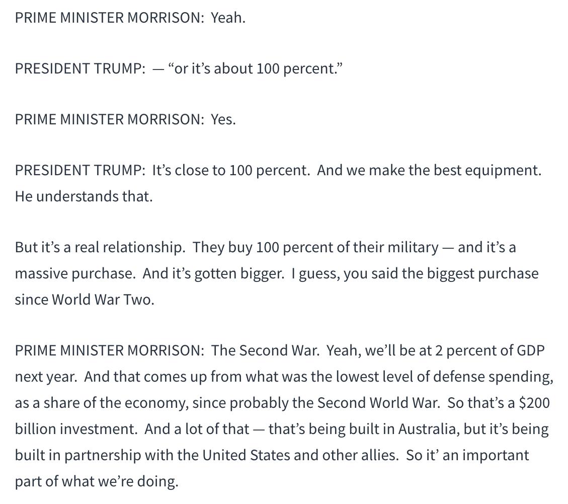 澳总理莫里森高调访美释放重要信息_图1-9