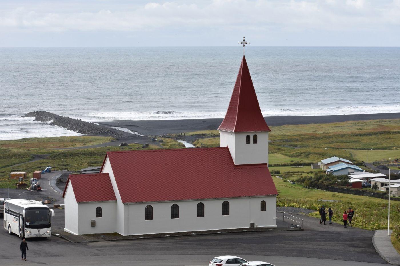 冰岛维克镇和雷尼斯黑沙滩_图1-2