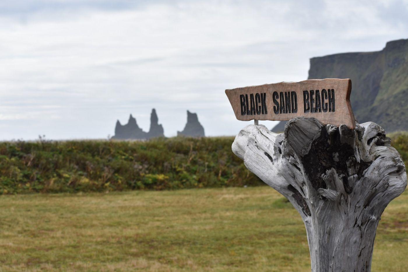 冰岛维克镇和雷尼斯黑沙滩_图1-18
