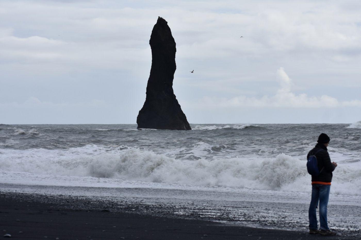 冰岛维克镇和雷尼斯黑沙滩_图1-26