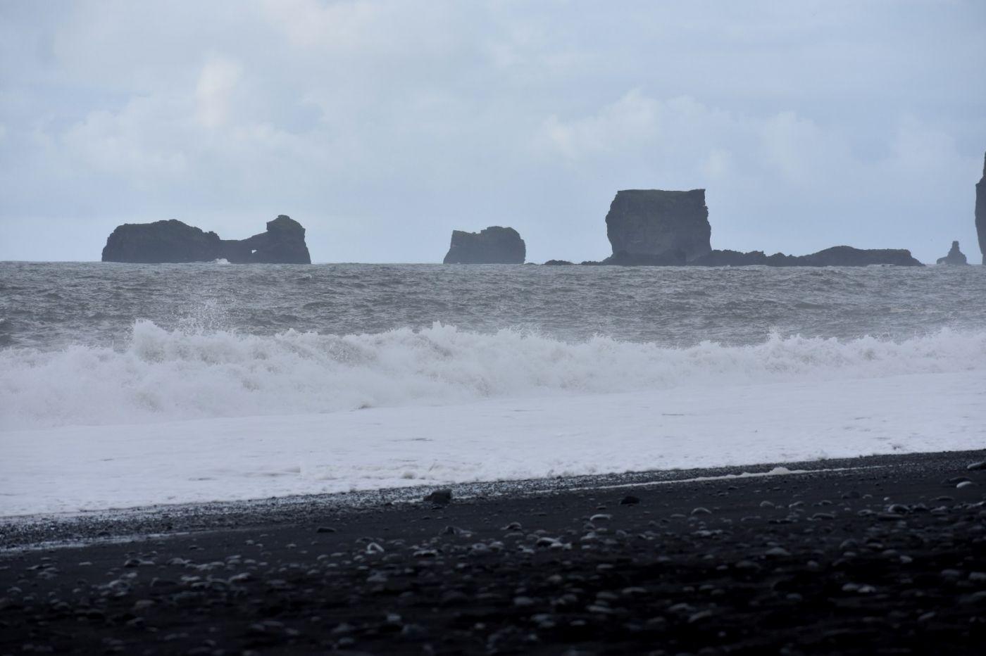 冰岛维克镇和雷尼斯黑沙滩_图1-29