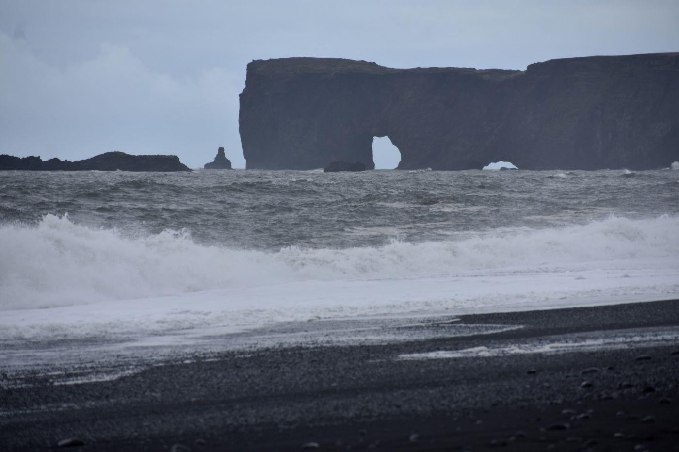 冰岛维克镇和雷尼斯黑沙滩_图1-30