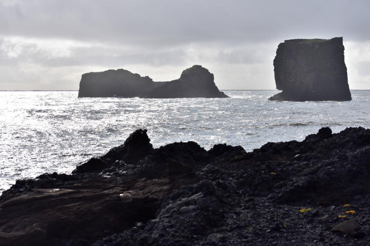 冰岛维克镇和雷尼斯黑沙滩_图1-43