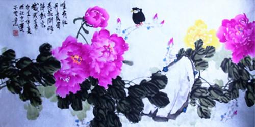 《国艳》盛世华章张炳瑞香牡丹系列作品_图1-1