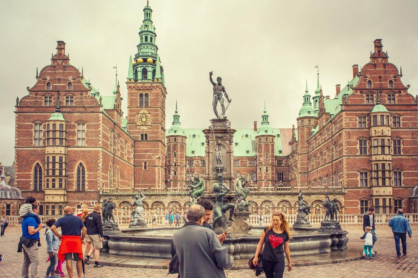丹麦腓特烈堡城堡,当年的风采_图1-5