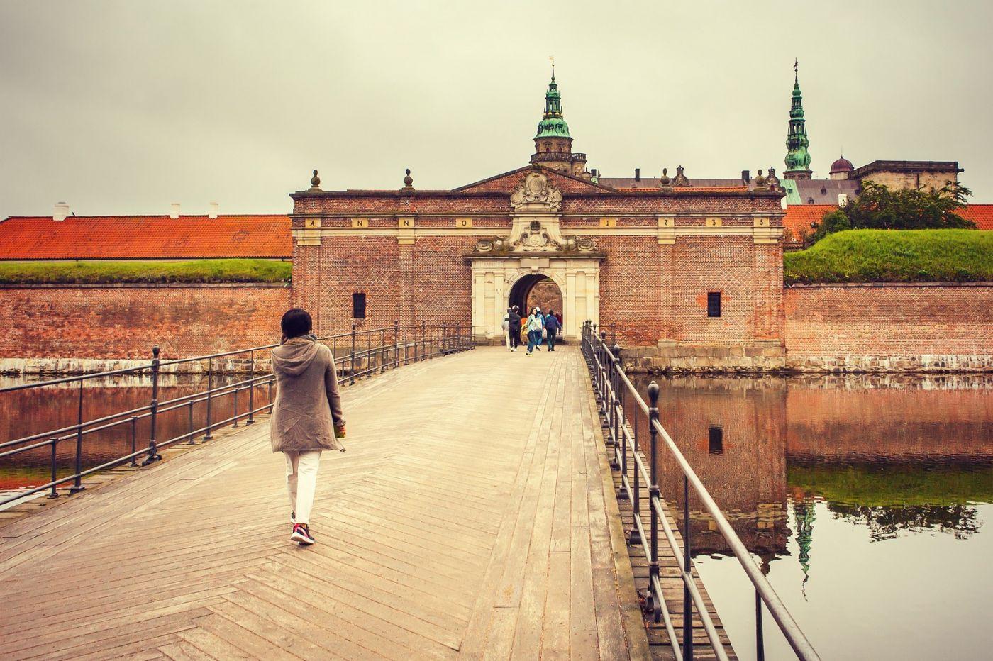 丹麦腓特烈堡城堡,当年的风采_图1-1