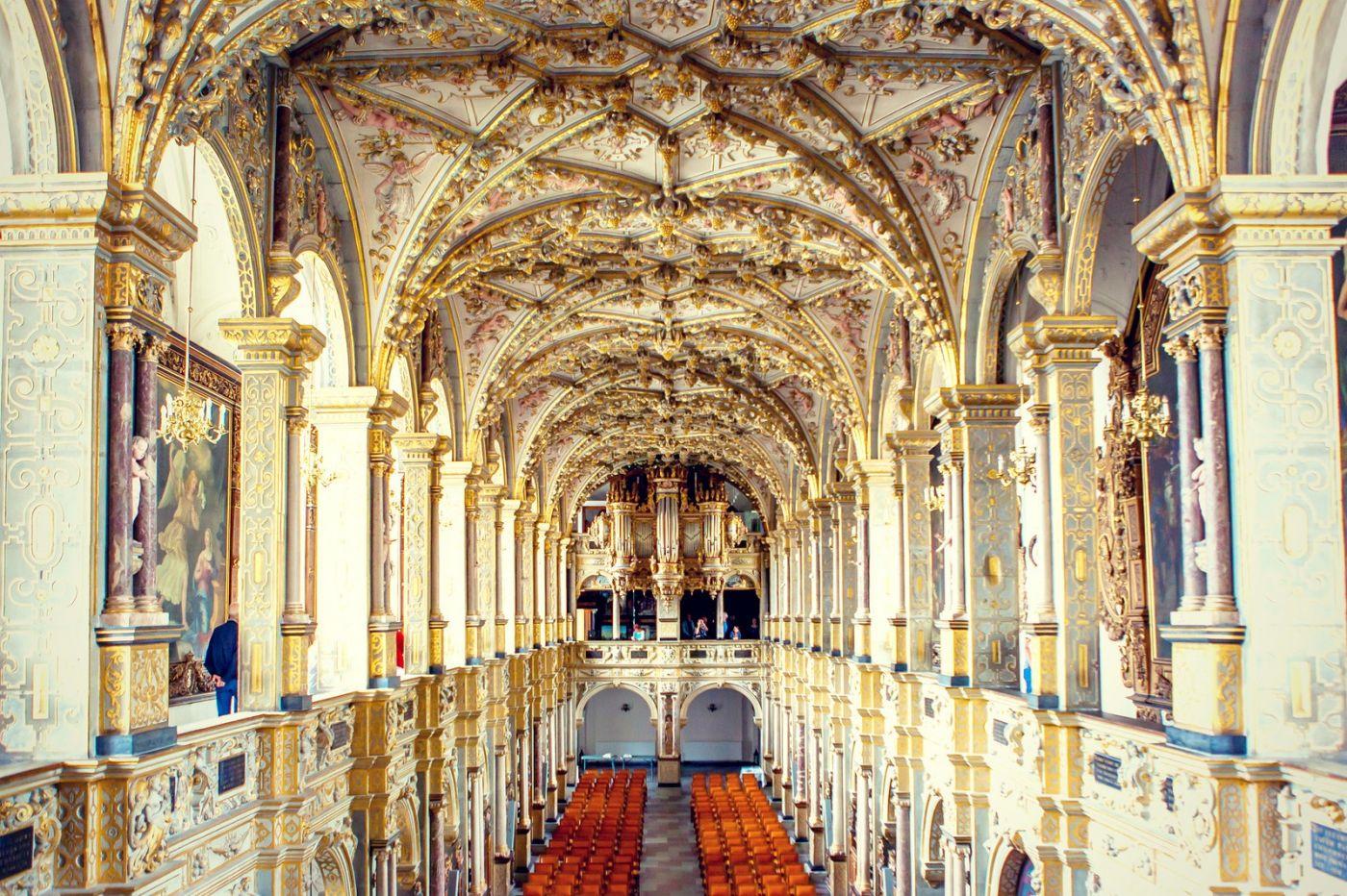 丹麦腓特烈堡城堡,当年的风采_图1-15
