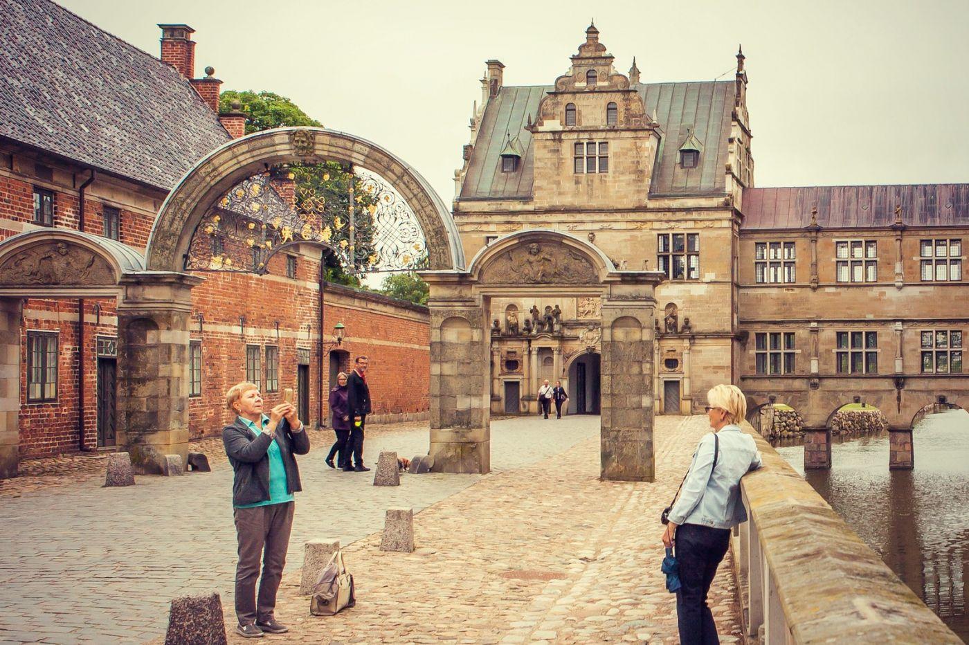丹麦腓特烈堡城堡,当年的风采_图1-17