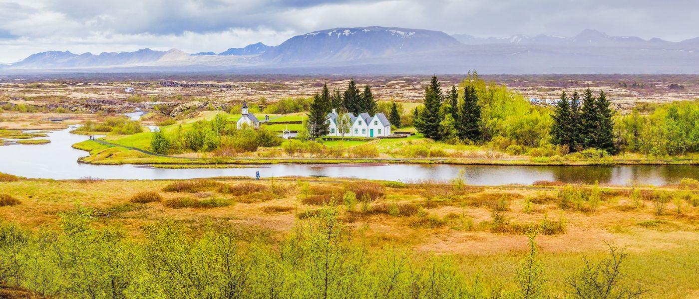 冰岛辛格韦德利,三大国家公园之一_图1-19